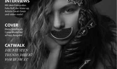 Elena Windlin - das Cover Model der neusten Ausgabe