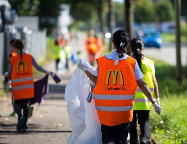 Clean-Up-Day 14.9.: Gäste und Partner packen gemeinsam mit McDonald's an