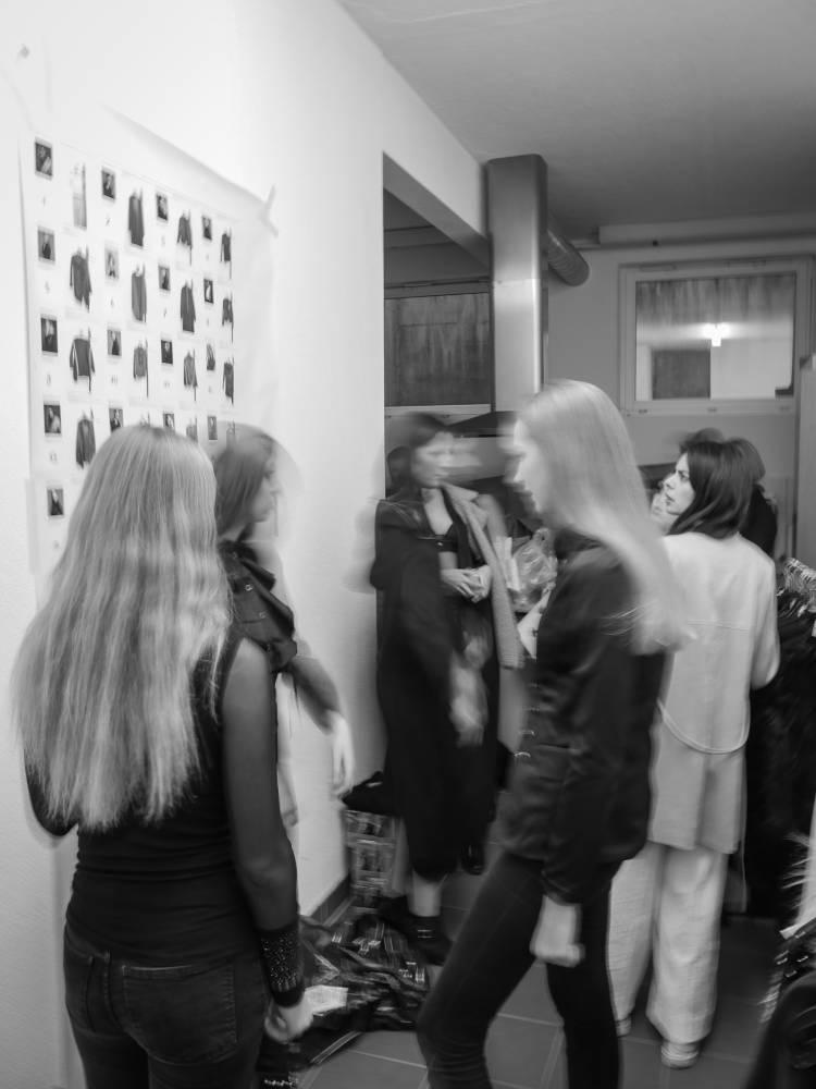 Fashionshow Christoph Marti Backstage